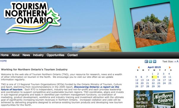 Tourism Northern Ontario